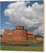landskrona SE Slott Citadellet 03 Wood Print