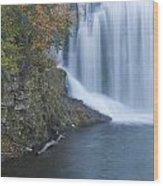 Lanesboro Dam 13 Wood Print