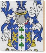 Lanigan Coat Of Arms Irish Wood Print