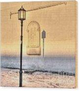 Lantern Day Wood Print