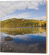 Lantern Hill Pond - North Stonington CT Wood Print