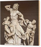 Laocoon And Sons Wood Print