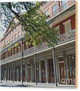 Upper Pontalba Building Photo Wood Print