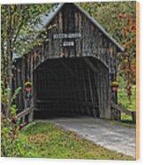 Larkin Bridge 1902 Wood Print