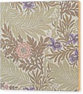 Larkspur Design Wood Print