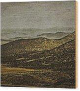 Las Colinas - The Hills Wood Print