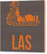 Las Las Vegas Airport Poster 1 Wood Print