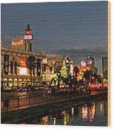 Las Vegas 36 Wood Print by Lance Vaughn