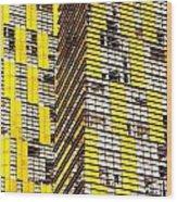 Las Vegas Abstract Wood Print