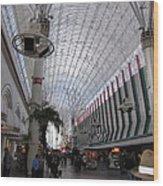 Las Vegas - Fremont Street Experience - 12121 Wood Print
