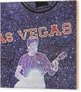 Las Vegas - Fremont Street Experience - 121214 Wood Print