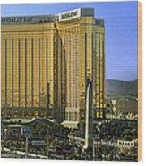 Las Vegas - Mandalay Bay Wood Print