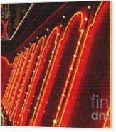 Las Vegas Neon Wood Print