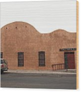 Las Vegas New Mexico Church Wood Print