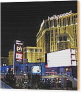 Las Vegas - Planet Hollywood Casino - 12121 Wood Print by DC Photographer