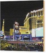Las Vegas - Planet Hollywood Casino - 12124 Wood Print