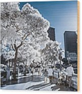 Las Vegas Strip In Infrared 1 Wood Print