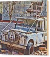 Lasseter Land Rover Wood Print