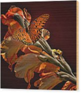 Last Colors Of Summer Wood Print