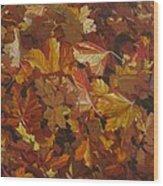 Last Fall In Monroe Wood Print
