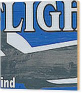 Last Flight Out A Key West State Of Mind - Panoramic Wood Print by Ian Monk