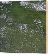 Last Of The Ice Floating  Wood Print