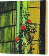 Last Roses Of The Season Wood Print