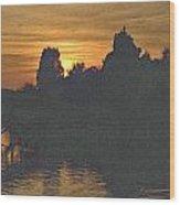 Last Sunset 2012 5 Wood Print