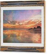 Lasting Moments Wood Print by Betsy Knapp