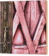 Latch Wood Print