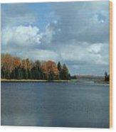 Late Autumn Splendor Wood Print
