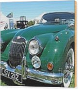 Jaguar Xk-150 Wood Print