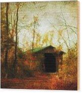 Late October Wood Print