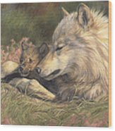 Late Spring Wood Print