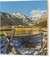 Late Spring Snow At Squaw Wood Print