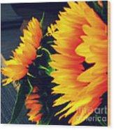 Late Summer Greetings Wood Print