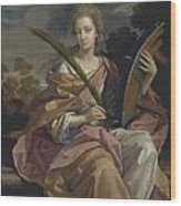 Later Lady Arundell Of Wardour Wood Print