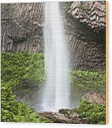 Latourell Falls II Wood Print