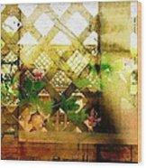 Lattuce Vine Wood Print