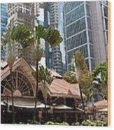 Lau Pa Sat Market 01 Wood Print