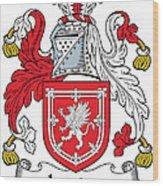 Lauder Coat Of Arms Irish Wood Print