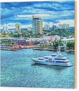 Lauderdale Wood Print