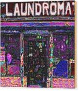 Laundromat 20130731 Wood Print