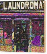 Laundromat 20130731p45 Wood Print