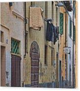 Laundry Citta Di Castello Wood Print