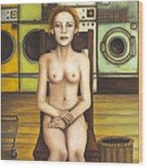 Laundry Day 5 Wood Print