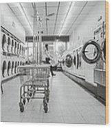 Laundry Room Wood Print