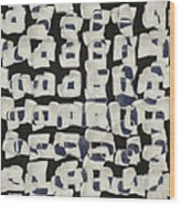 Laura Series Making Marks 545b2 Wood Print