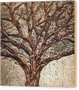 Laura Silver Lining Wood Print