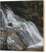 Laurel Falls Great Smoky Mountains Wood Print